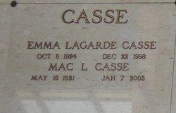 "McPherson L. ""Mac"" Casse"