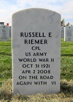 Russell Elmer Riemer