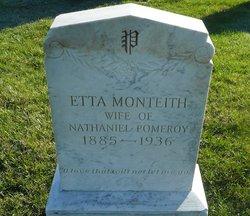 Etta <I>Monteith</I> Pomeroy