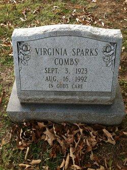 Virginia <I>Sparks</I> Combs