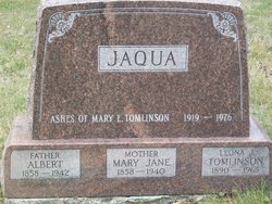 Mary Jane <I>Watson</I> Jaqua