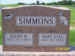 Ralph W Simmons