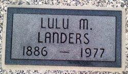 Lulu M. Landers