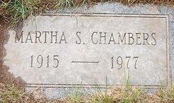 Martha S <I>Shank</I> Chambers