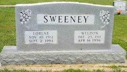 Gertie Lorene <I>Spain</I> Sweeney