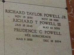 Prudence C. <I>Robicheaux</I> Powell