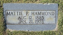 Mattie L. <I>Perry</I> Hammond
