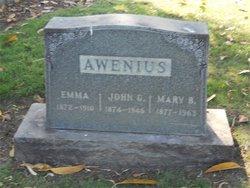 Mary B Awenius