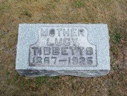 Lucy <I>Gabert</I> Tibbetts