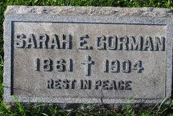 Sarah E Gorman