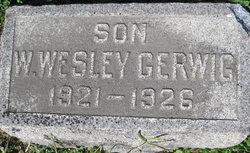 Walter Wesley Gerwig