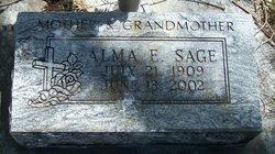 Alma E Sage