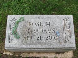 Rose M. MacAdams