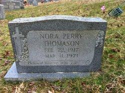 Nora <I>Perry</I> Thomason