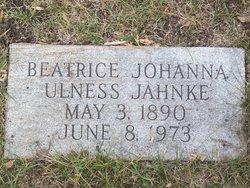Beatrice Johanna <I>Ulness</I> Jahnke