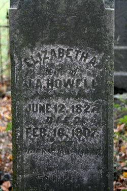 "Elizabeth Ann ""Betsey"" <I>Salsman</I> Howell"
