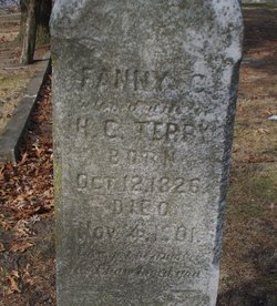 "Frances C. ""Fanny"" <I>Darrow</I> Terry"