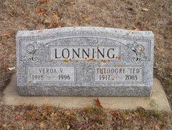 Verda V. <I>Hansen</I> Lonning