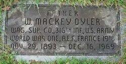 W Mackey Oyler