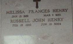 Melissa Frances Henry