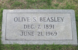 Olive Mcclellan <I>Steadham</I> Beasley