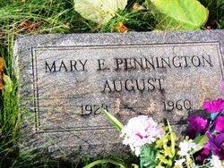 Mary E. <I>Pennington</I> August