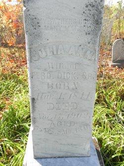 Julia Ann <I>Kidd</I> Dick