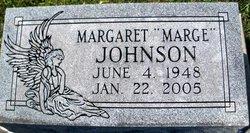"Margaret May ""Marge"" <I>Kiser</I> Johnson"