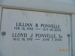 Lloyd J Ponvelle, Sr