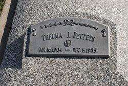 Thelma J Petteys