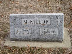 """Clinton John """"Doc"""" McKillop"""