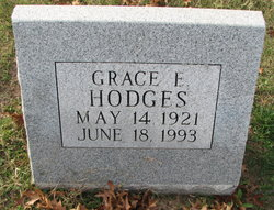 Grace E <I>Thomson</I> Hodges