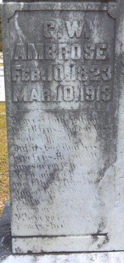 George Washington Ambrose