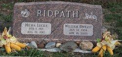 Hilma Lucile <I>Stulp</I> Ridpath