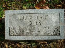 Louise Halie Estes