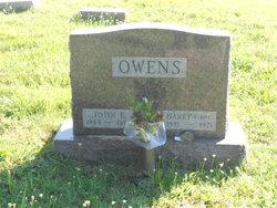 """Harry """"Buddy"""" Owens"""