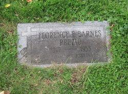 Florence E. <I>Barnes</I> Prezio
