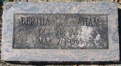 Bertha Gertrude Graham