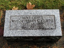 Carrie <I>Hall</I> Curtis