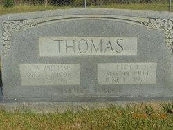 Essie Ola <I>Williams</I> Thomas