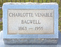 Charlotte Virginia <I>Venable</I> Bagwell