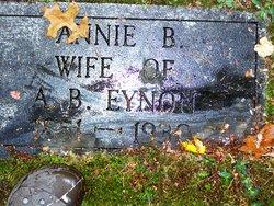 Annie B. <I>Hughes</I> Eynon