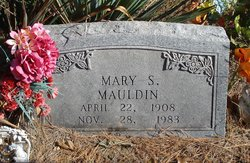 Mary Sible <I>Hollis</I> Mauldin