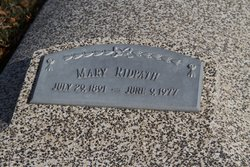 Mary Rebecca <I>Mead</I> Ridpath