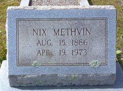 "Thomas Nixon ""Nix"" Methvin"