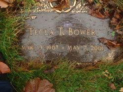 Tecla <I>Taylor</I> Bower