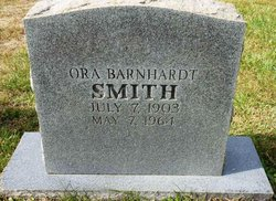 Ora Lee <I>Barnhardt</I> Smith