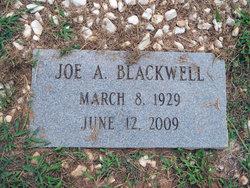 Joe A Blackwell