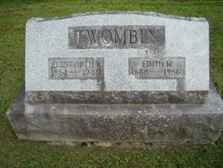 Edith Amy <I>Holbrook</I> Twombly