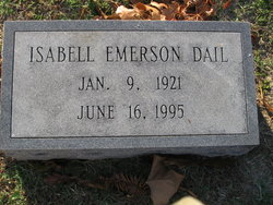 Isabell Alice <I>Emerson</I> Dail